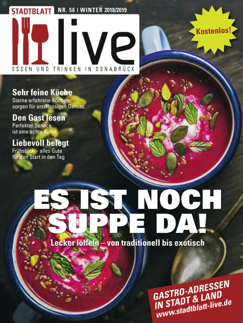 STADTBLATT live Winter 2018/2019